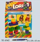 Lori 01 - stavebnice 50ks