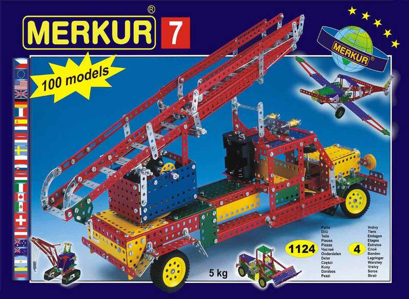 MERKUR M07 Stavebnice M 7
