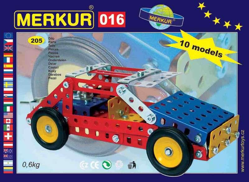 Česká kovová stavebnice Merkur 016 Buggy