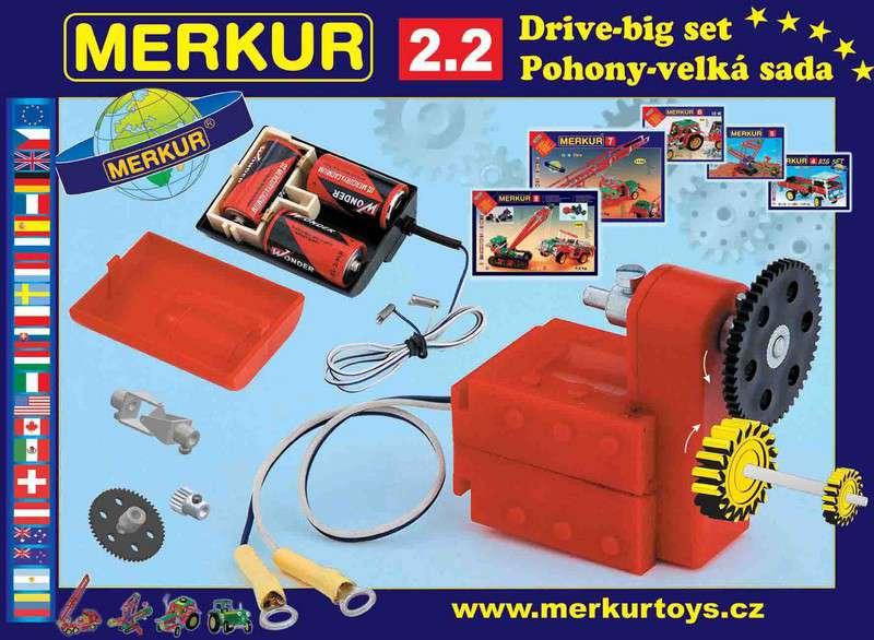 Stavebnice MERKUR M2.2 pohony a převody
