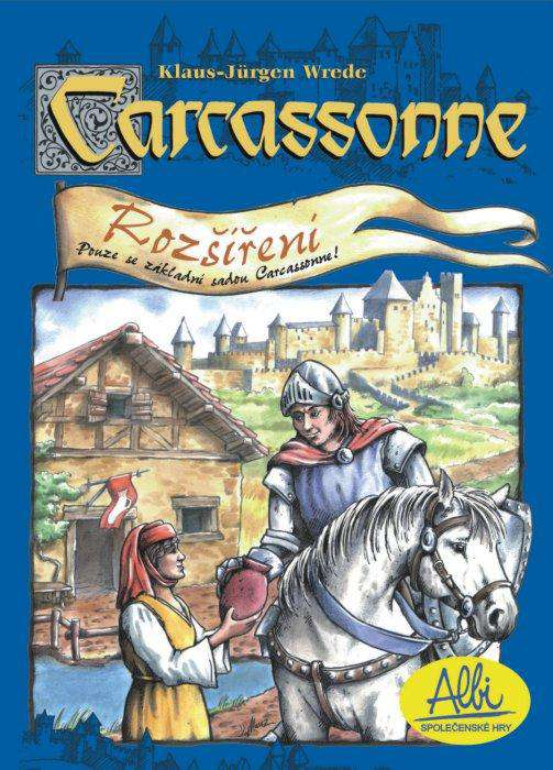 Desková hra Carcassone - rozšíření 1 Hostince a katedrály