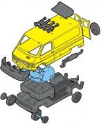 Monti 37 Renault Trafic ZOO Safari