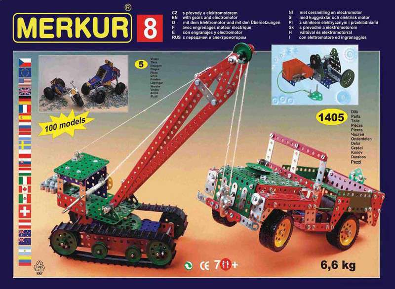 MERKUR 08 Stavebnice M 8