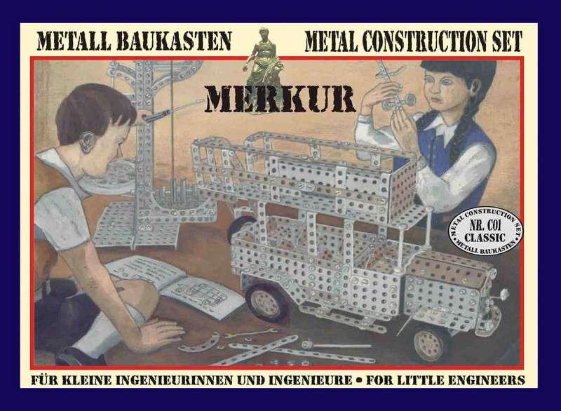 Exkluzivní stavebnice MERKUR Classic C01