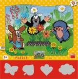 Puzzle Krtek a zahradník