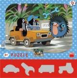 Puzzle Krtek a autíčko