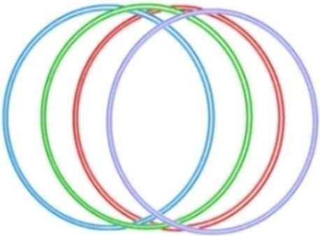 Obruč Hula Hop 70cm