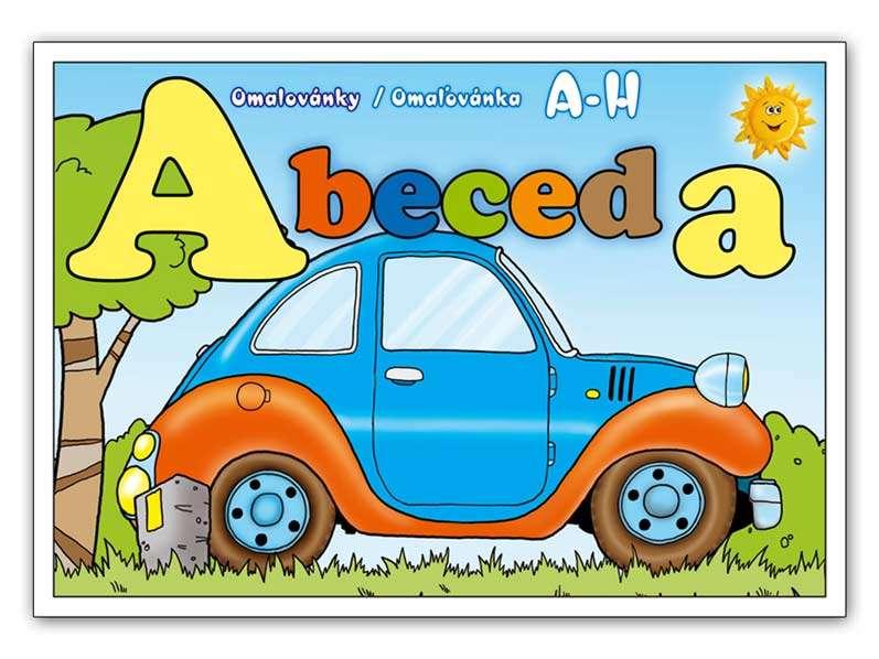 Omalovánky Abeceda A - H