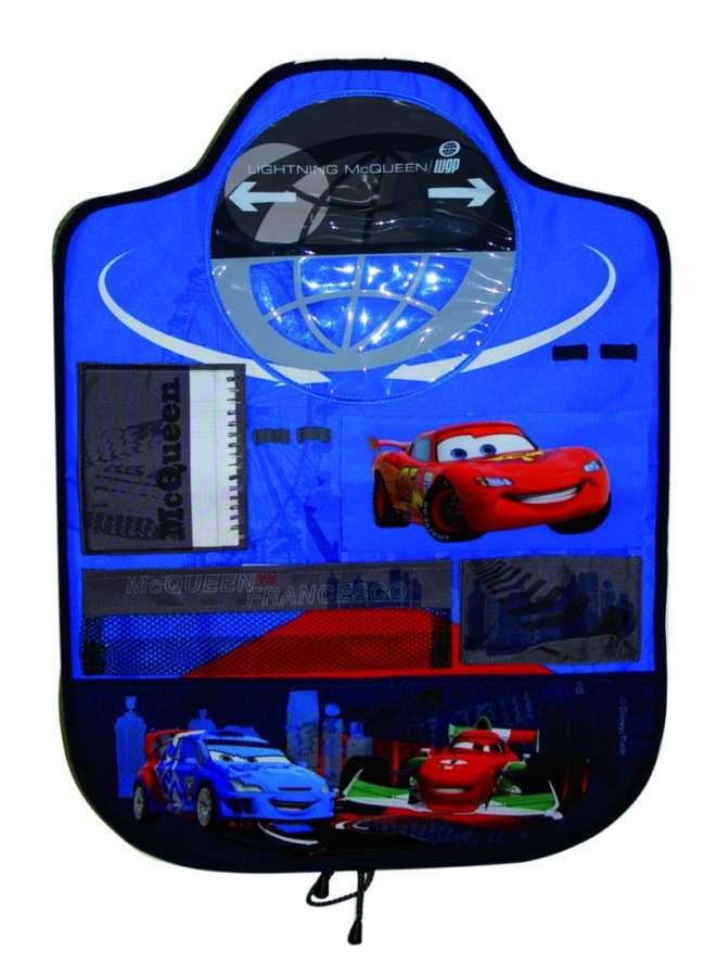 Chránič sedadla - kapsář Cars