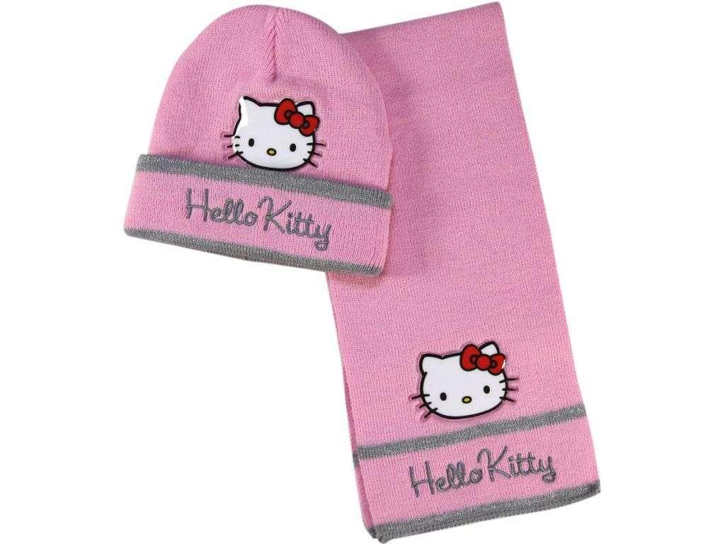Zimní 2-dílná souprava Hello Kitty