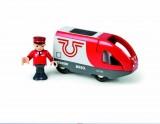 BRIO - Elektrická lokomotiva červeno-bílá