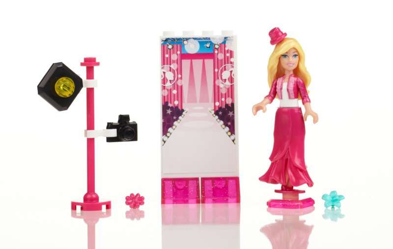 MEGABLOKS Micro Barbie figurka - modelka