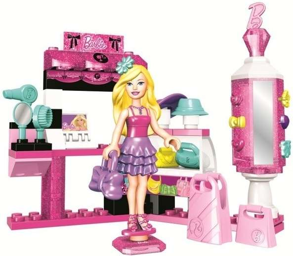 MEGABLOKS Micro Barbie módní salón