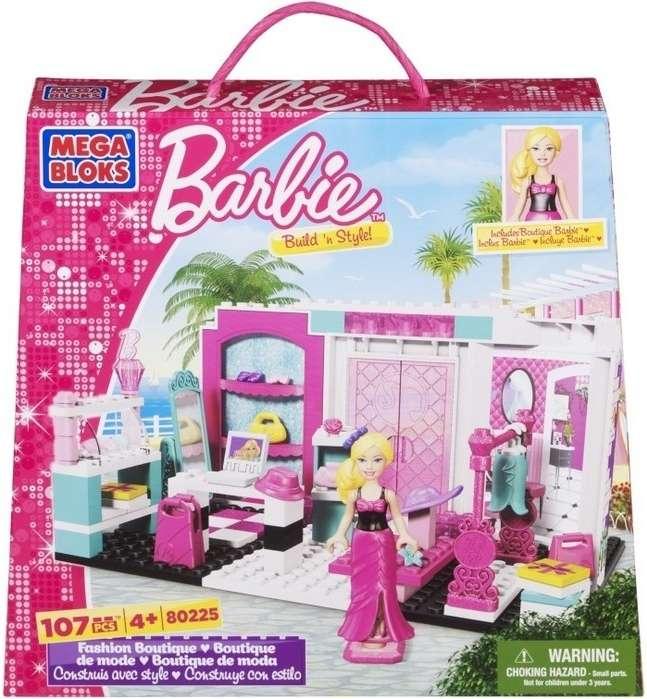 MEGABLOKS Micro Barbie a její módní butik