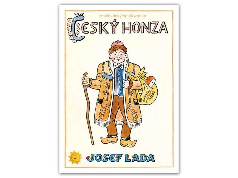 Omalovánky Český Honza