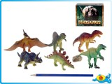 Dinosaurus 12 - 14 cm 6 druhů