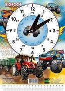 Školní hodiny Bigfoot a Traktor