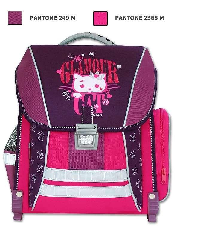 Emipo Školní batoh Glamour Cat B-7909-5.093