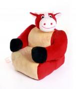 Hamiro Dětská sedačka plyšová - křesílko Kráva 100cm