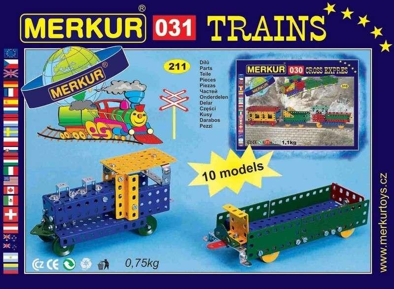 Stavebnice Merkur 031 Železniční modely