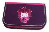 Školní penál 2-klopy Glamour Cat