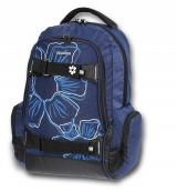 Studentský batoh Walker Flower modrý