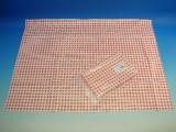 Ubrus 331106 PVC 65 x 50 cm červené káro