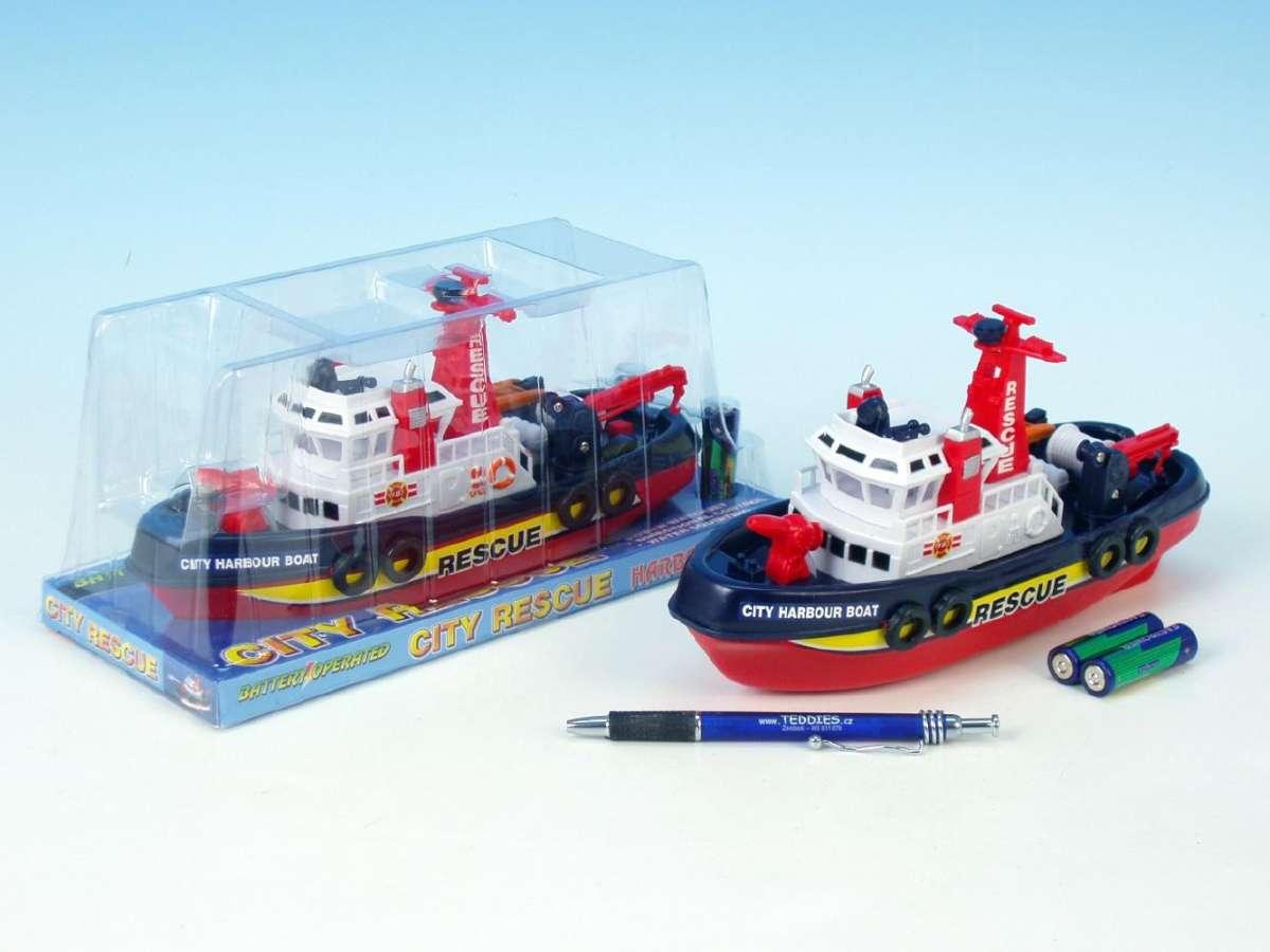 Záchranářská loď 24 cm