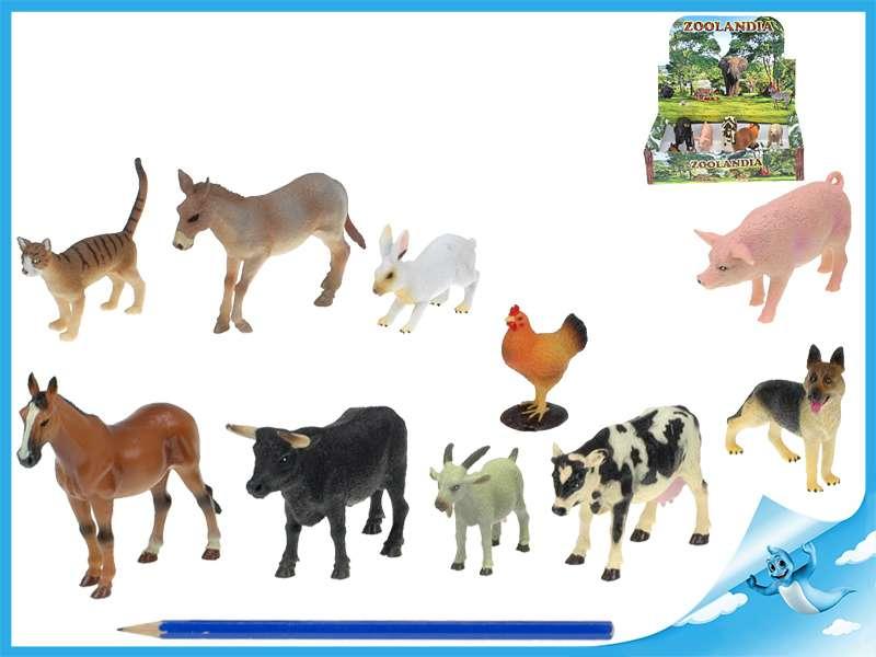 Zvířátka farma 5-10cm