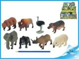 Zvířátka safari velká 10 - 18 cm