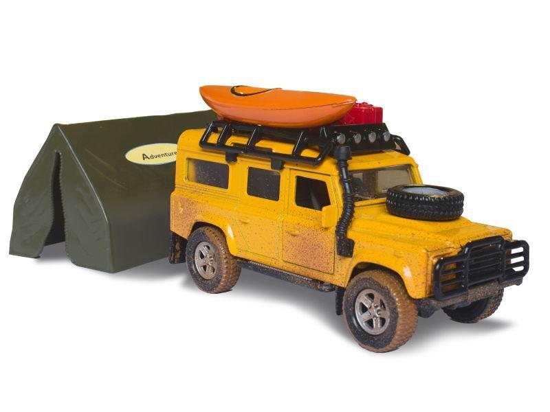 Auto Land Rover Defender se stanem