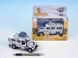 Auto Land Rover safari 14cm kov na BO se světlem a zvukem