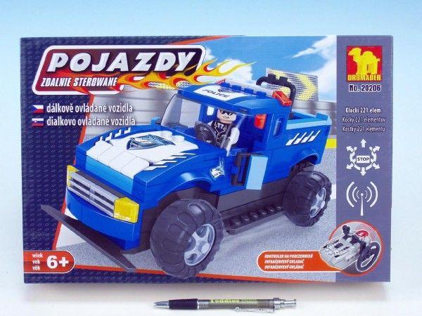 Dromader - Auto RC Policie na vysílačku na baterie