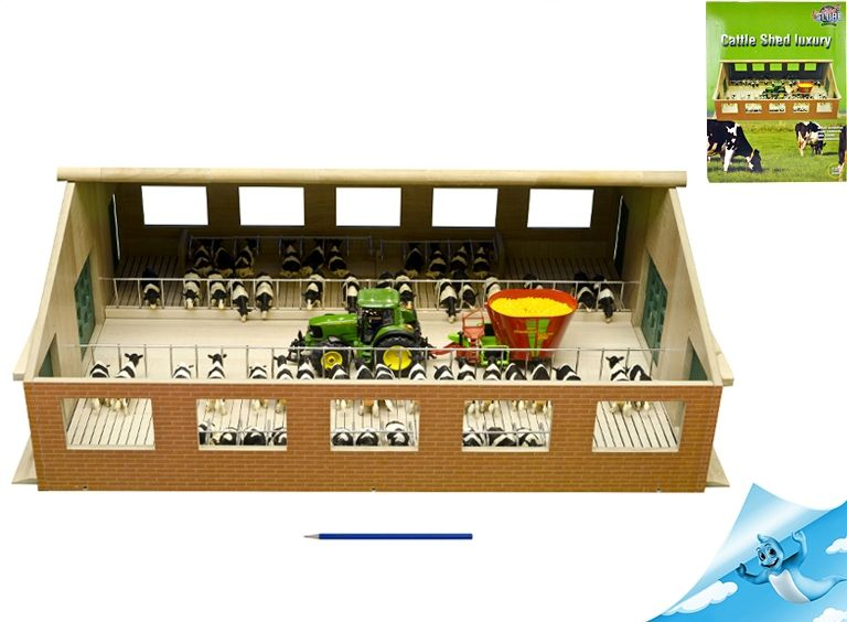 Farma dřevěná 72 x 62 x 26,5 cm 1:32