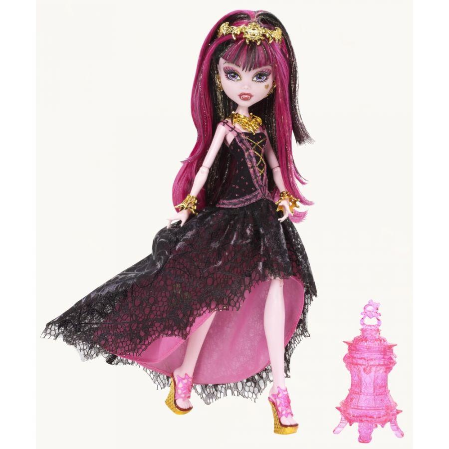 Monster High 13 přání Draculaura deluxe
