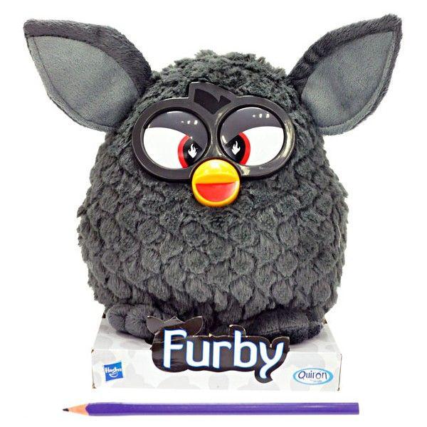 Furby Black Magic plyšový  20 cm černý