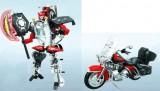 Robot Transformers Harley Davidson 1:14