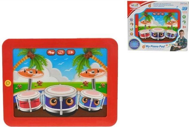 Tablet elektronický 3D bubny