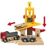 BRIO Překladiště s vagónkem a nákladním autem