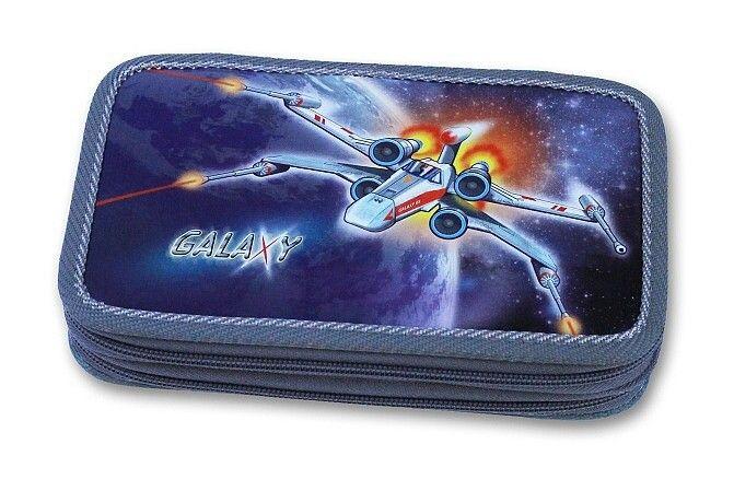 Školní penál 2-patra Galaxy