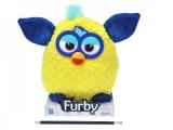Furby plyšový 20 cm žluto-modrý
