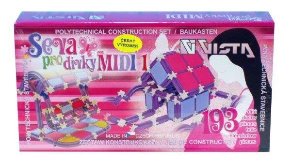 Seva pro dívky MIDI 1 193 ks