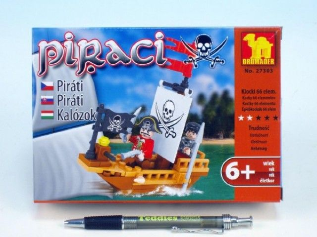 Dromader - Piráti 66 ks