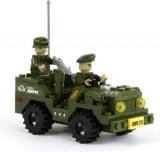 Dromader - Vojáci Auto Jeep 108 ks