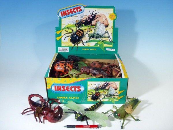 Hmyz 13 - 23 cm 12 druhů