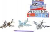 Letadlo 20 cm vojenské kov na BO