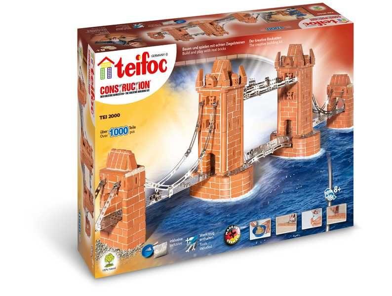 Teifoc 2000 Tower Bridge 1000 dílků