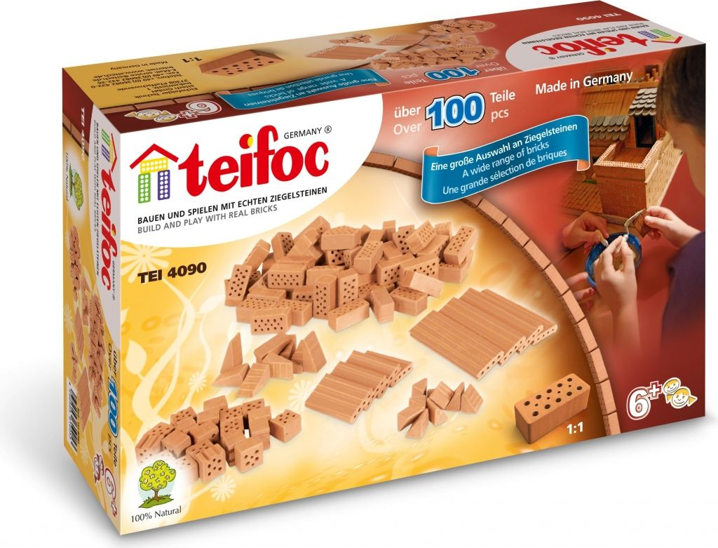 Teifoc 3543 Cihličky 100 ks