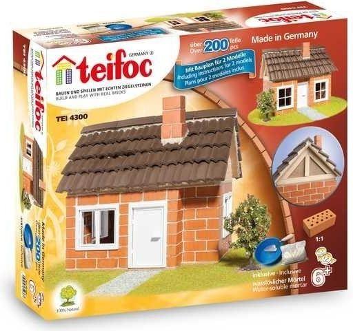 Teifoc 4300 Domek Carlos 200 dílků