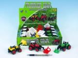 Traktor 11 cm kov 3 druhy